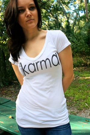 share the karma tee